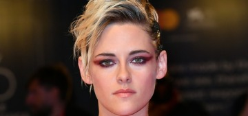 Kristen Stewart in pink Chanel at the Venice 'Seberg' premiere: punk or sugary?