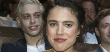 Pete Davidson went to Venice to support his girlfriend Margaret Qualley
