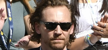 Tom Hiddleston & Zawe Ashton have come out to the US Open together several times