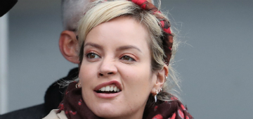 Is Lily Allen dating David Harbour from Stranger Things?