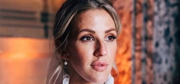 Ellie Goulding posted more cool photos from her fancy-pants wedding