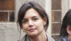 "Katie Holmes is ""grateful"" that Tom Cruise is leaving her the hell alone"
