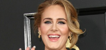 Adele will release new music later this year, and she's feeling 'perky as hell'