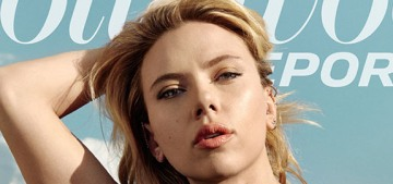 Scarlett Johansson: 'I love Woody.  I believe him, and I would work with him anytime'