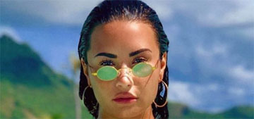 Demi Lovato shares unedited pic of her booty in a bikini: I'm cellulit