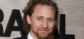 Tom Hiddleston wore the hell out of a Ralph Lauren suit for Betrayal's opening night