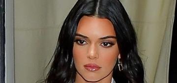 Kendall Jenner wants her new friend Brad Pitt to date Rihanna, sure, okay