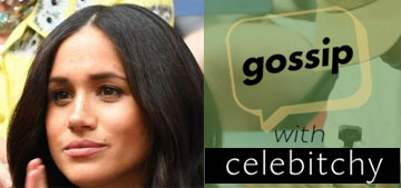 'Gossip With Celebitchy' podcast #28: 60 Minutes Australia's hit piece against Meghan