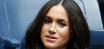 Duchess Meghan hired an American PR firm & the royal courtiers are salty about it