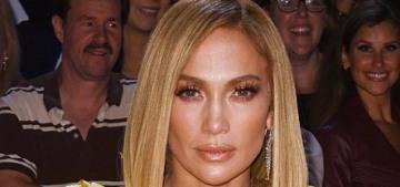 Jennifer Lopez in Maison Yeya at the TIFF 'Hustlers' premiere: Big Bird or chic?