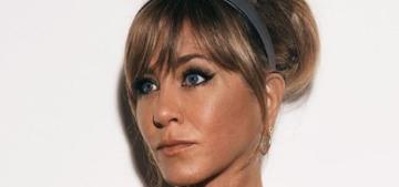 Jennifer Aniston: 'I still do pluck my eyebrows, it is my Zen time'