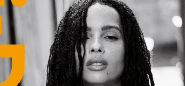 Zoe Kravitz felt like she 'had to change my hair in order to be accepted or get work'