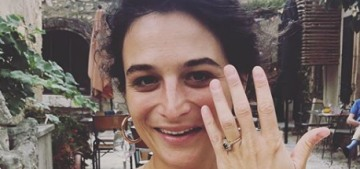 Jenny Slate announced her engagement to Ben Shattuck, her boyfriend of a year