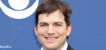 Ashton Kutcher's toe broke and he just snapped it back into place