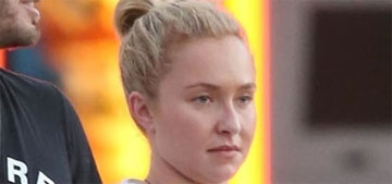 Hayden Panettiere got papped holding hands with her ex boyfriend's brother