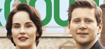 'Downton Abbey' covers Town & Country, everybody get ready for aristo drama!