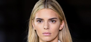 Kendall Jenner went blonde for the Burberry show: love it or hate it?
