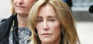 Felicity Huffman is 'contrite and humbled and accepts the outcome' of her sentence