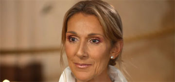 Celine Dion: I don't date but I miss being touched and held