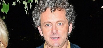 Michael Sheen, 50, welcomed a daughter with his 25-year-old girlfriend Anna