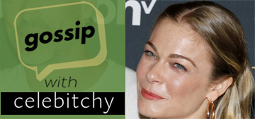 'Gossip with Celebitchy' podcast #31: That time LeAnn Rimes' people contacted us