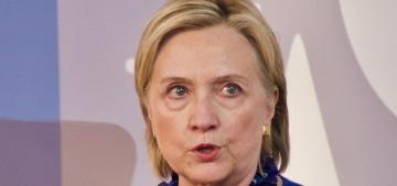 Hillary Clinton on Joe Biden's creepy touching & sexism: 'Get over it'