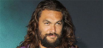 Jason Momoa speaks in front of the UN to urge action on climate change