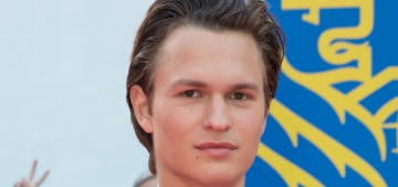 Ansel Elgort wants to be in love with more women but not for sexual purposes