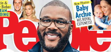 Tyler Perry covers People: 'I don't think I ever felt safe as a child'