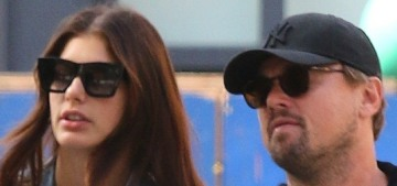 Leo DiCaprio held hands with Camila Morrone during a lowkey NYC outing