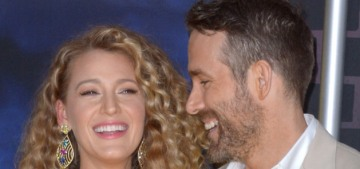 Blake Lively & Ryan Reynolds welcomed their third child about two months ago