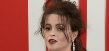 Helena Bonham Carter consulted a psychic to get Princess Margaret's approval for casting