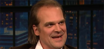 David Harbour on his costars: What adult male wants to hang out with 15 year-olds?