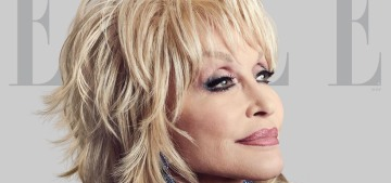 Dolly Parton covers Elle: 'A rhinestone shines just as good as a diamond'