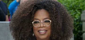 Oprah covers People, said she didn't think she'd live past 56