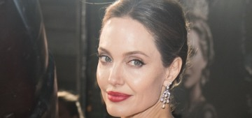 Angelina Jolie in Ralph and Russo at the UK 'Maleficent' premiere: stunning?