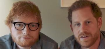 Prince Harry & Ed Sheeran unite to raise awareness of gingers & mental health