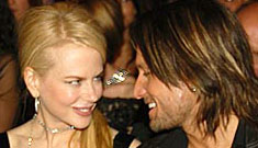 Keith Urban goes public with his romance with Nicole Kidman