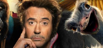 Wow, Robert Downey Jr.'s 'Dolittle' looks completely horrible, right?