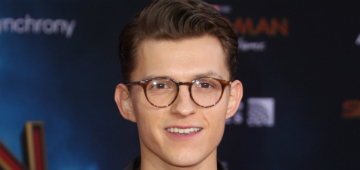 Empty a can of hairspray in memory of Tom Holland's mane