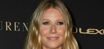 Gwyneth Paltrow got drunk & called herself a 'lame old white lady' at the Elle event