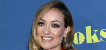 Olivia Wilde's daughter poured ice water on her pillow at 3am