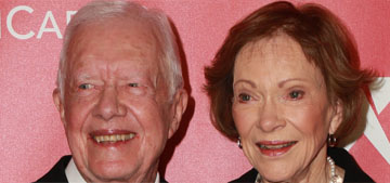 President Jimmy Carter, 95, credits wife Rosalynn for his longevity