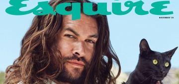 """Jason Momoa: """"I don't say a lot of things or use big sentences. I'm not 'very smart.'"""""""