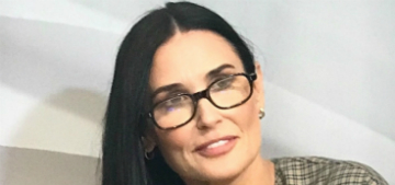 Demi Moore sleeps with seven dogs in her bed: 'We're a communal species'