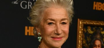 Why did Helen Mirren have to flex so hard at the 'Catherine the Great' premiere?