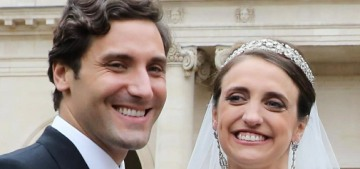 Austria's Countess Olympia married a Napoleon & wore a fantastic wedding gown