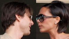 "Tom Cruise plays ""relationship guru"" to Posh & Becks"