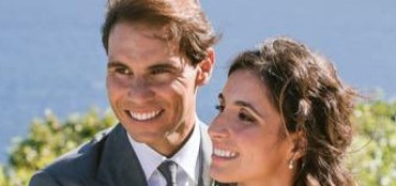 Rafael Nadal married his girlfriend of 14 years in Mallorca this weekend