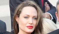 Angelina Jolie's shapeless sacks are no longer considered fashionable